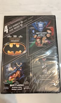 Batman Collection 4 Films DVD Brand New Sealed  Vaughan, L4J 4T8