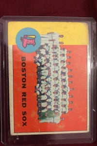 1962 Boston Redsocks. Calgary, T2Y 2W5