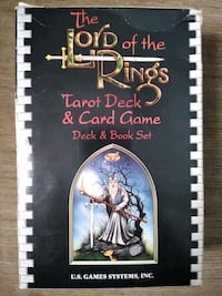 NEW! Lord of the Rings Tarot Deck and Card game Radcliff, 40160