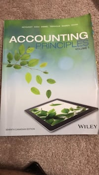 Accounting principles 2 Toronto, M3L 0G6