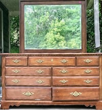 brown wooden dresser with mirror Harpers Ferry, 25425