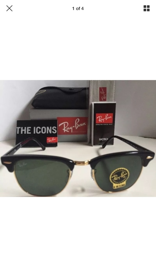 d32668bf1f84 Used RayBan Clubmaster Sunglasses for sale in Airway Heights - letgo