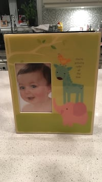 New ceramic cover baby photo album never used
