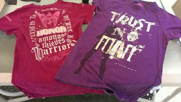 LOT OF WOMEN'S T-SHIRTS BY BLACK LABEL PINK SHIRT