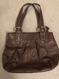 Leather Coach Bag Mississauga, L4W 3C8