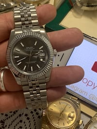 Check all my ads read AD analog watch Rolex watch automatic watch Vaughan, L6A
