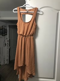 Size xS Forever 21 tan colour dress 547 km