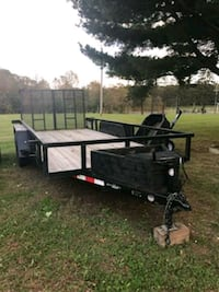 16 ft double axle trailer 2016  Bel Air, 21015