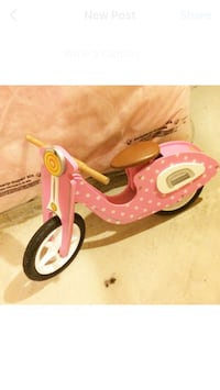 Pink and white radio flyer trike Milton, L9T 8B3
