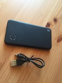 black iPhone 4 with charger New Westminster
