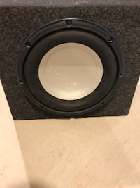 "Subwoofer : MTX 4001 and 10"" Infinity Perfect Kappa Milton, L9E"
