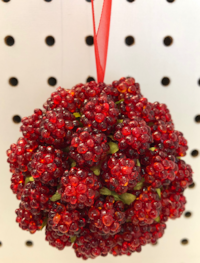 Christmas Holly Berry Ornaments - Set of 30 Calabasas, 91302
