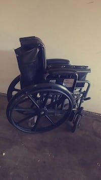 black leather wheelchair Oceanside, 92057