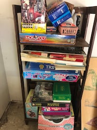 Shelf with games Sachse, 75048