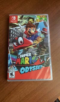 Brand new sealed super mario odyssey for nintendo switch  Markham, L3S 3T6