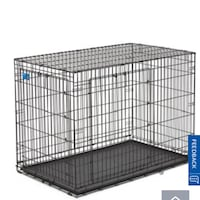 LARGE BLACK METAL DOG CRATE Mississauga, L5A 1N2