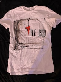 The Used band tee