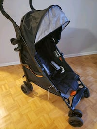 baby's black and blue stroller Toronto, M9A 4M6