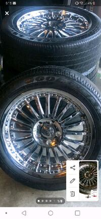 18inch rims for sell. $350 for set of 4 obo.