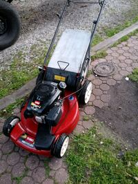 Toro recycler front wheel drive self-propelled with bag new oil change