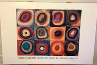 Wood mounted Wassily Kandinsky Poster Canmore, T1W 3J2