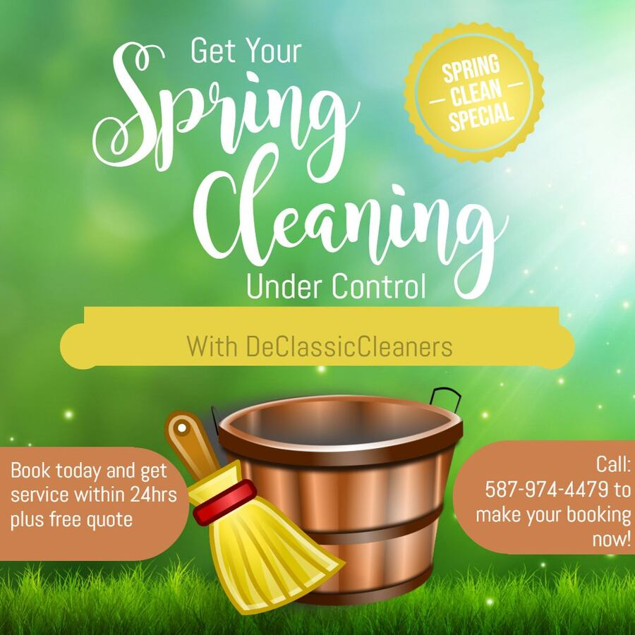 Spring Cleaning with DeClassicCleaners 15291e48-a5e2-449d-a6a3-8208ed2eb286