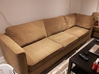 Brown Sectional Sofa Bed Bolton, L7E 2W7