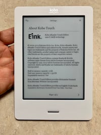 Kobo touch books reader Mississauga, L5S