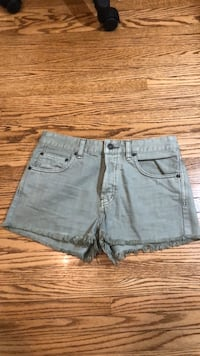 Brand New Free People Light green shorts size 27 Toronto, M6L 1A4