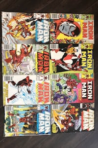 Ironman comics  [TL_HIDDEN]  [TL_HIDDEN] 22 Richmond Hill, L4S