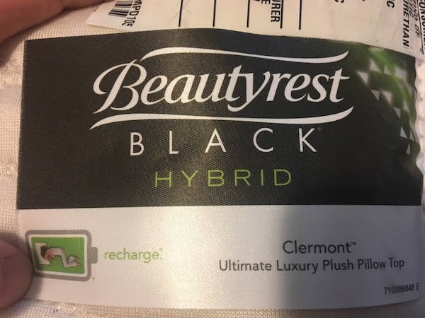Beautyrest Black Hybrid Clermont Ultimate Luxury Plush Pillow Top