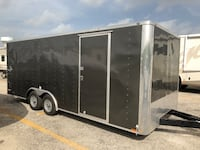 2018 Cargo Trailer 24 ft with tongue length. 8.5ft wide  LOADED! San Antonio, 78239
