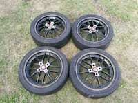 4 tires with amazing rims Gatineau, J8Y 3T7