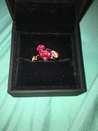 gold pink and diamond ring in box Newmarket, L3Y 2Z7