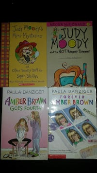 Judy Moody and Amber Brown Children's Books Virginia Beach, 23456