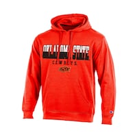 Champion NCAA Men's Huddle Up 2 Pullover Hooded Fleece - OKLAHOMA STATE COWBOYS SIZE L Nutley