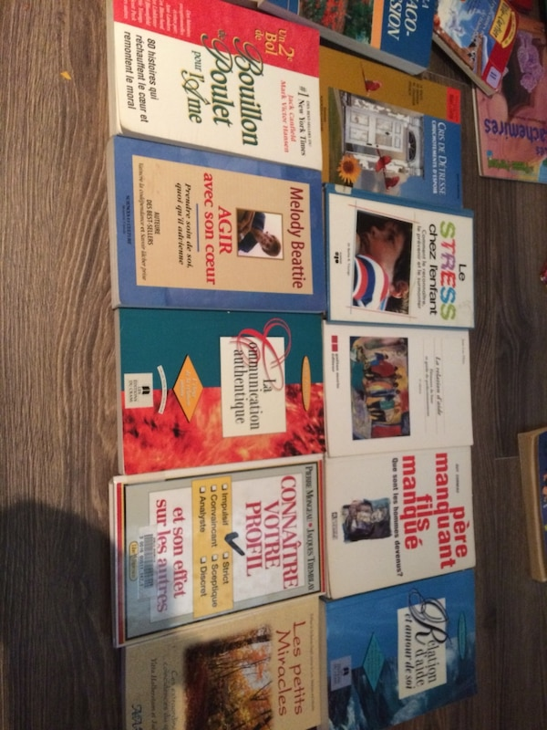 six assorted books by James Patterson