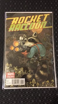 Rocket Raccoon #1 Variant NM/NM+ Indio, 92201
