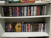 DVD case lot