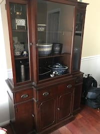 China Cabinet (Antique-1920's) Burke