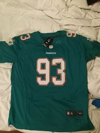 #93 Suh Miami Dolphins nike on field  Mississauga, L5J
