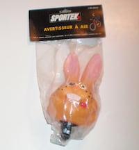 Rabbit Squeaky Squeeze Air Horn for Bicycle by Sportek  London