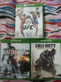 three assorted Xbox One game cases Northfield, 55057