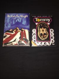 The Who - DVD Collection: Tommy, & The Kids Are Alright (SE) Baltimore, 21211