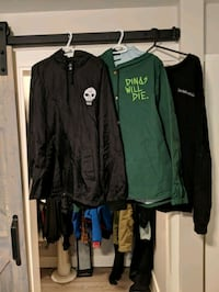 Dinosaurs will die jackets  Langley, V2Y