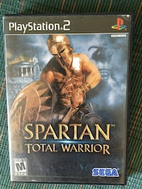 Ps2 spartan total warrior Middle River, 21220