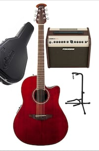 Guitar(electric Acoustic), Amp, Case, Stand Los Angeles, 90046