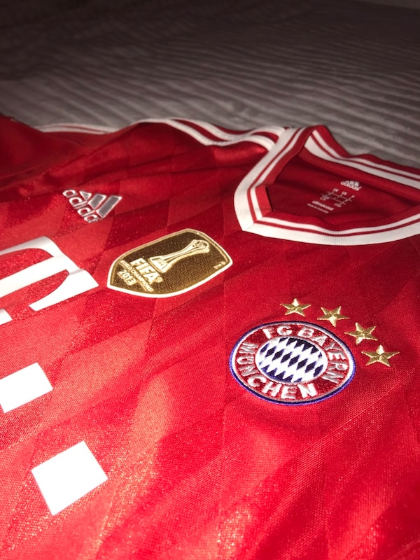 best service 67a0e 84897 Authentic 12/13 Bayern Munich Arjen Robben Jersey