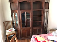 Glass front lighted curio cabinets  Odenton, 21113