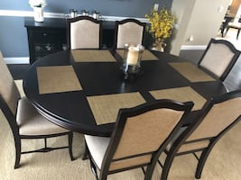 Bermex Custom Dining Room Table and 6 chairs (Make an offer)